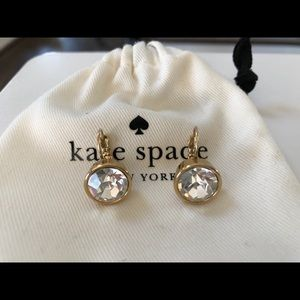 Kate Spade Crystal Droplet Earrings